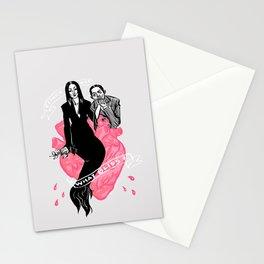 Creepy Love Stationery Cards
