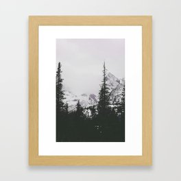 From the window Framed Art Print