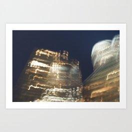 Charlotte Skyline 3 Art Print