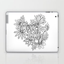 Boss Lady Adult Coloring Design Laptop & iPad Skin