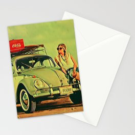 If my Beetle Spoke Stationery Cards