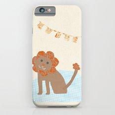 lion collage iPhone 6s Slim Case