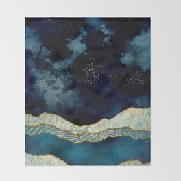 Indigo Sky Throw Blanket