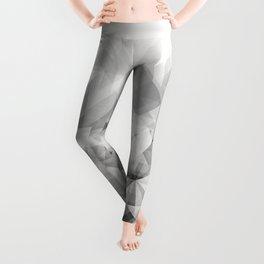 triangles white Leggings