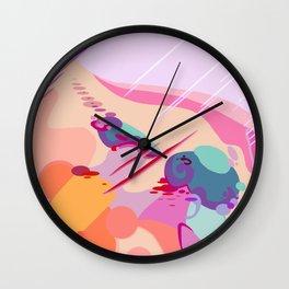 BRUISES Wall Clock