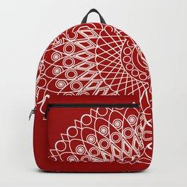 Christmas mandala Backpack