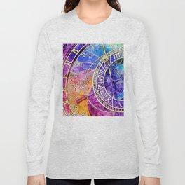 Alchemical Runes Clock Long Sleeve T-shirt