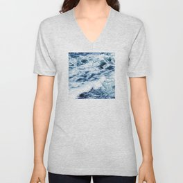 Ocean Waves: A Power Greater Than Me Unisex V-Neck