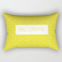 Make Lemonade Rectangular Pillow