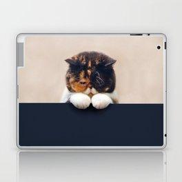 Lonley Cat Laptop & iPad Skin