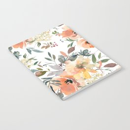 Peachy Keen Pattern Notebook