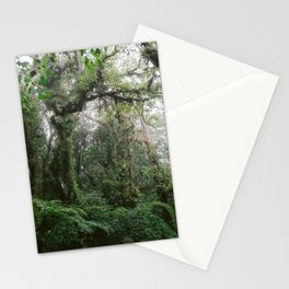 Monteverde Cloud forest | Costa Rica nature eco travel photography | Shades of green Stationery Cards