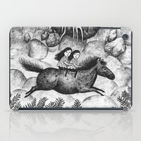 sisters iPad Cases featuring Sisters by Ulrika Kestere