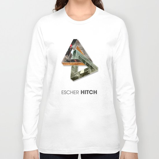 escher hitch Long Sleeve T-shirt
