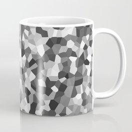 Grey Mosaic Pattern Coffee Mug