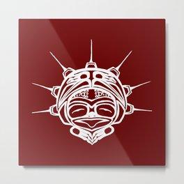 Spirit Frog Blood Metal Print