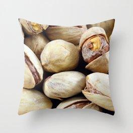 Pistachios Throw Pillow