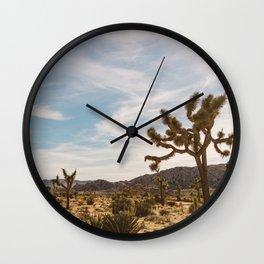 Joshua Tree National Park XXVI Wall Clock