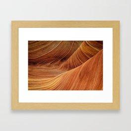 Land of red sands Framed Art Print