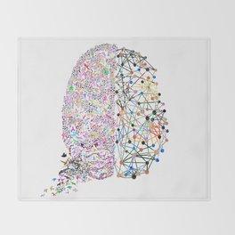 the Brain Throw Blanket