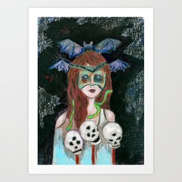 Morgana  Art Print