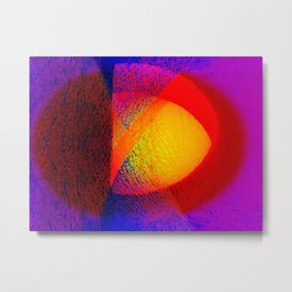 Abstract pattern in colors Metal Print