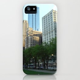 """""""A Nap In The Park"""" iPhone Case"""