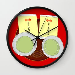Tea Ceremony in Koyasan, Japan Wall Clock
