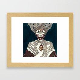Exu Framed Art Print