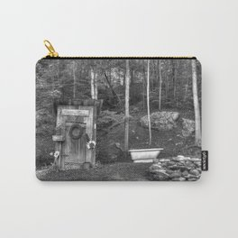 Privy and a tub Carry-All Pouch