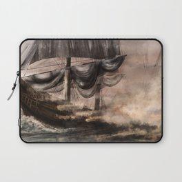 Ship Battle - Dawn Laptop Sleeve