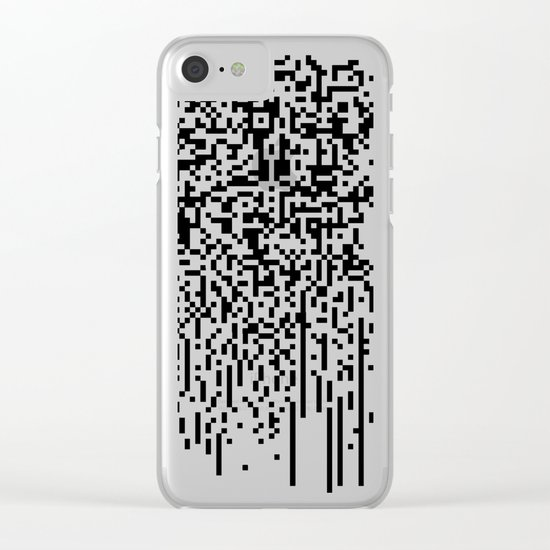 QR-antine V 0.1 Clear iPhone Case