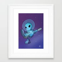 space jam Framed Art Prints featuring Space Jam by Adventuresome