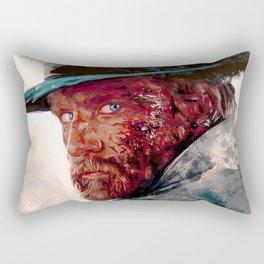 Wounded Cowboy Rectangular Pillow