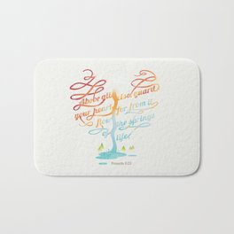 You heart Bath Mat