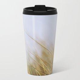 Beach Grass Metal Travel Mug