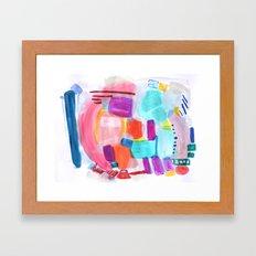 Summer Umbrella Framed Art Print