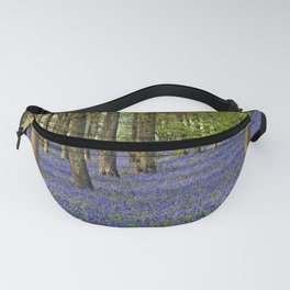 Bluebell Woods Grey's Court Oxfordshire England Fanny Pack