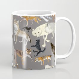 Wolves of the world 1 Coffee Mug