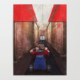 The Ghost Twins - Forever And Ever - The Shining Poster