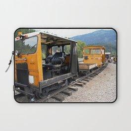 At the Rockwood Depot of the Durango & Silverton NG Railroad Laptop Sleeve