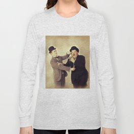 Laurel and Hardy, Hollywood Legends Long Sleeve T-shirt