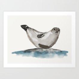 Seal-ing Seal Art Print