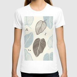 Leaves - Mid Century Modern T-shirt