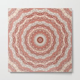 Mandala , kaleidoscope Metal Print