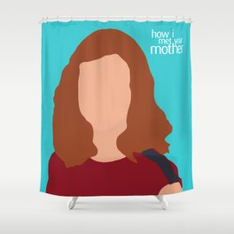 Lily Aldrin HIMYM Shower Curtain