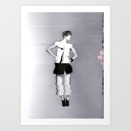 Vogue Pixelated Art Print
