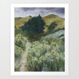 Boise Foothills no. 2 Art Print