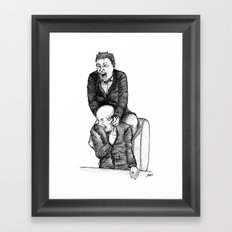 Assaut Roboratif Framed Art Print