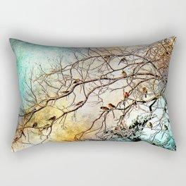 Out On A Limb Jewel Tones Rectangular Pillow